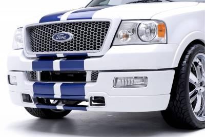 F150 - Body Kit Accessories - 3dCarbon - Ford F150 3dCarbon Hood Vent with Grille - Pair - 691101