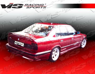 Spoilers - Custom Wing - VIS Racing - BMW 5 Series VIS Racing M Tech Spoiler - 89BME344DMTH-003