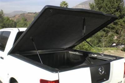 SUV Truck Accessories - Tonneau Covers - Cal-Lidz - Cal Lidz Black Fiberglass Tonneau Cover 103324B