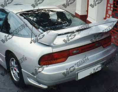 Spoilers - Custom Wing - VIS Racing - Nissan 240SX HB VIS Racing Techno R Spoiler - 89NS240HBTNR-003