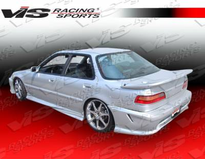 Spoilers - Custom Wing - VIS Racing - Acura Integra 4DR VIS Racing Z1 Rear Spoiler - 90ACINT4DZ1-003
