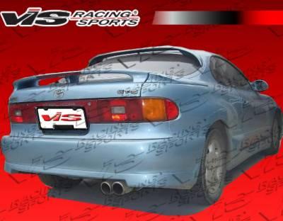 Spoilers - Custom Wing - VIS Racing - Toyota Celica VIS Racing V Speed Roof Spoiler - 90TYCELHBVSP-023