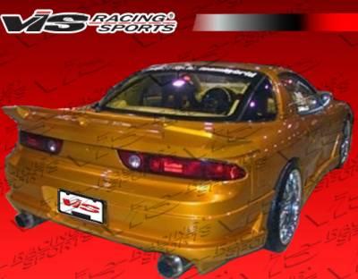 Spoilers - Custom Wing - VIS Racing - Mitsubishi 3000GT VIS Racing Ballistix Spoiler - 91MT3K2DBX-003