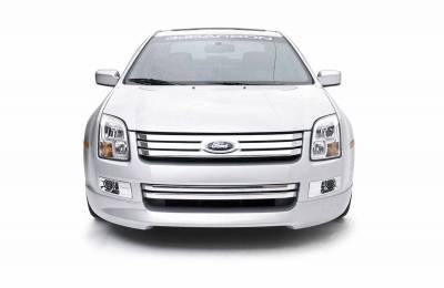 Fusion - Front Bumper - 3dCarbon - Ford Fusion 3dCarbon Front Air Dam - 691201