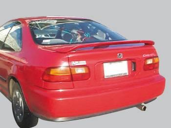 Spoilers - Custom Wing - VIS Racing - Honda Civic 2DR VIS Racing Factory Style Spoiler - 92HDCVC2DOE-003