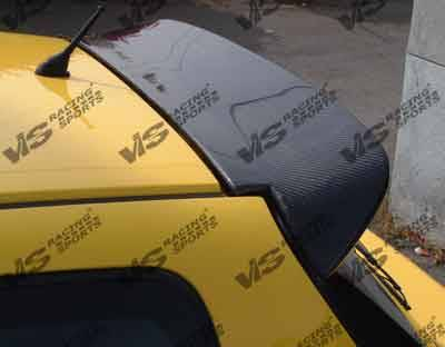 Spoilers - Custom Wing - VIS Racing - Honda Civic HB VIS Racing Type-S Black Carbon Fiber Spoiler - 92HDCVCHBSPN-003C
