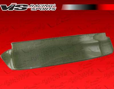 Spoilers - Custom Wing - VIS Racing - Honda Civic HB VIS Racing Type-S Carbon Kevlar Roof Spoiler - 92HDCVCHBSPN-003K