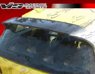 Spoilers - Custom Wing - VIS Racing - Honda Civic HB VIS Racing Tracer Spoiler - 92HDCVCHBTRA-003