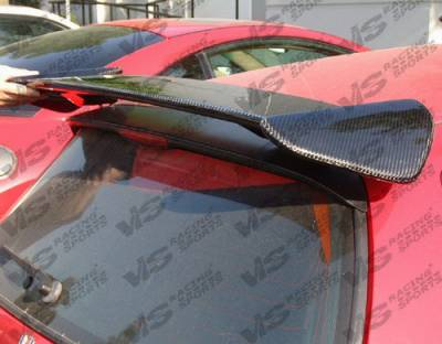 Spoilers - Custom Wing - VIS Racing - Honda Civic HB VIS Racing Type-R Black Carbonfiber Spoiler - 92HDCVCHBTYR-003C