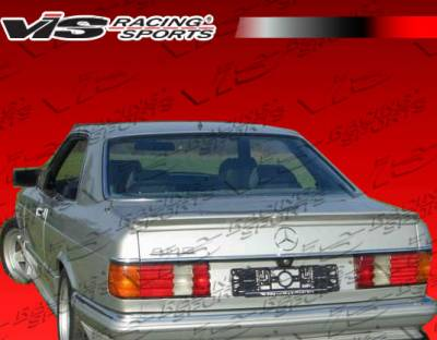 Spoilers - Custom Wing - VIS Racing - Mercedes-Benz S Class VIS Racing Euro Tech Spoiler - 92MEW1404DET-003