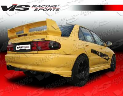 Spoilers - Custom Wing - VIS Racing - Mitsubishi Mirage 4DR VIS Racing Evolution-3 Spoiler - 93MTMIR4DEVO3-003