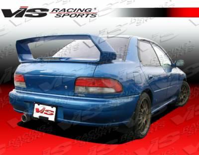 Spoilers - Custom Wing - VIS Racing. - Subaru Impreza VIS Racing STI Spoiler - 93SBIMP4DSTI-003