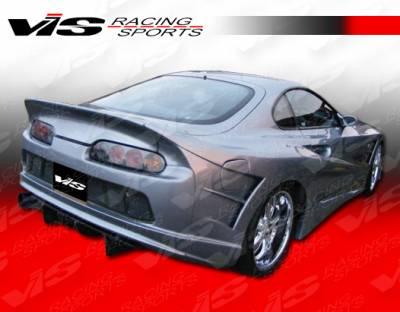 Spoilers - Custom Wing - VIS Racing - Toyota Supra VIS Racing Alfa Widebody Spoiler - 93TYSUP2DALFWB-003