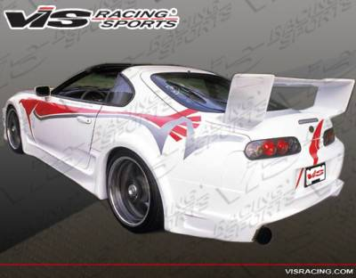Spoilers - Custom Wing - VIS Racing - Toyota Supra VIS Racing Battle Z Spoiler - 93TYSUP2DBZ-003