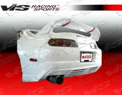 Spoilers - Custom Wing - VIS Racing - Toyota Supra VIS Racing Xtreme GT Spoiler - 93TYSUP2DGT-003