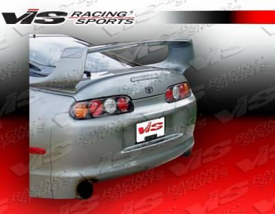 Spoilers - Custom Wing - VIS Racing - Toyota Supra VIS Racing Techno R-1 Spoiler - 93TYSUP2DTNR1-003