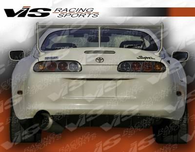 Spoilers - Custom Wing - VIS Racing - Toyota Supra VIS Racing Techno R-2 Spoiler - 93TYSUP2DTNR2-003