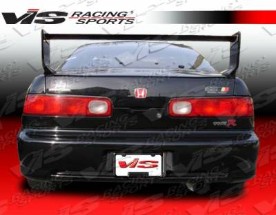 Spoilers - Custom Wing - VIS Racing - Acura Integra 2DR VIS Racing Techno R-2 Spoiler - 94ACINT2DTNR2-003