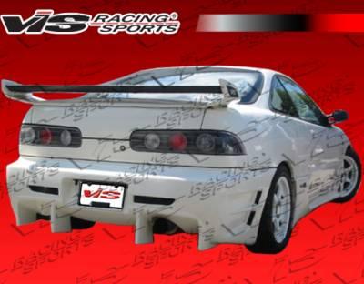Spoilers - Custom Wing - VIS Racing - Acura Integra 2DR VIS Racing Tracer Spoiler - 94ACINT2DTRA-003
