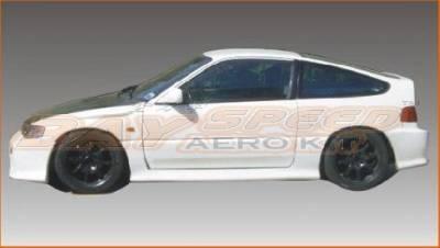 Civic HB - Body Kit Accessories - Bayspeed. - Honda Civic HB Bay Speed Mugen Door Caps - 1120M-DC