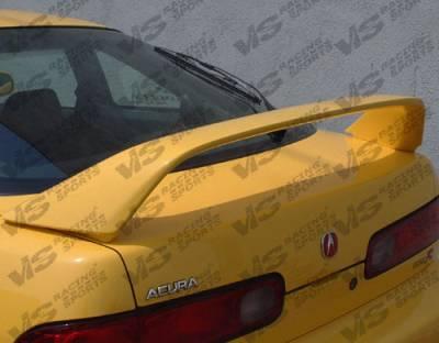 Spoilers - Custom Wing - VIS Racing - Acura Integra 2DR VIS Racing Type R Spoiler - 94ACINT2DTYR-003