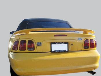 Spoilers - Custom Wing - VIS Racing - Ford Mustang VIS Racing GT Factory Style Spoiler without Light - 94FDMUS2DOE-003