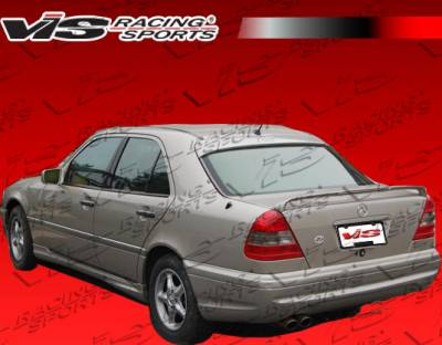 Spoilers - Custom Wing - VIS Racing - Mercedes-Benz C Class VIS Racing Euro Tech Spoiler - 94MEW2024DET-003