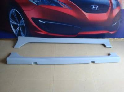 Civic 4Dr - Side Skirts - Bay Speed - Honda Civic 4DR Bay Speed Type R Side Skirts - FRP - 1133R