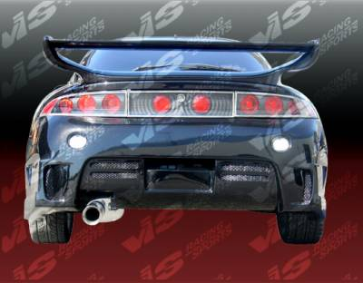 Spoilers - Custom Wing - VIS Racing - Mitsubishi Eclipse VIS Racing Invader-2 Spoiler - 95MTECL2DINV2-003