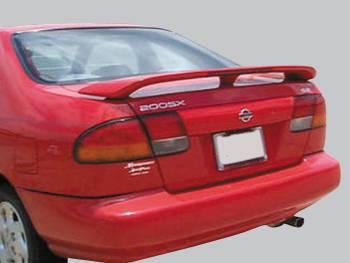 Spoilers - Custom Wing - VIS Racing - Nissan 200SX VIS Racing Factory Style Spoiler with LED - 95NS2002DOE-003