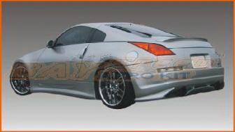 350Z - Side Skirts - Bayspeed. - Nissan 350Z Bay Speed Espirt Side Skirts - 1150ES