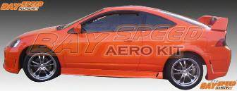 RSX - Side Skirts - Bayspeed. - Acura RSX Bay Speed Buddy Club 2 Style Side Skirts - 1158BD2