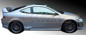 Bayspeed. - Acura RSX Bay Speed Ings Style Side Skirts - 1158NG