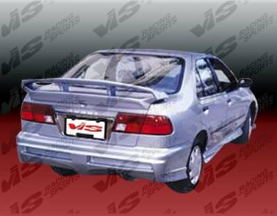 Spoilers - Custom Wing - VIS Racing - Nissan Sentra VIS Racing Xtreme Spoiler - 95NSSEN4DEX-003