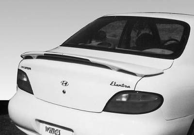 Spoilers - Custom Wing - VIS Racing - Hyundai Elantra VIS Racing Custom Style Wing with Light - 960007L