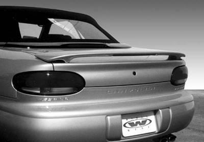 Spoilers - Custom Wing - VIS Racing - Chrysler Sebring VIS Racing Custom 2 Leg Wing with Light - 960008L