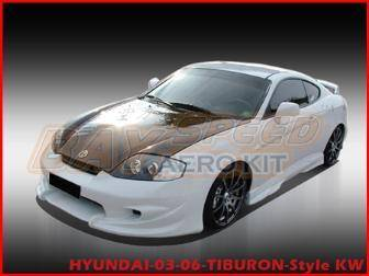 Tiburon - Side Skirts - Bay Speed - Hyundai Tiburon Bay Speed VS Side Skirts - FRP - 1177V