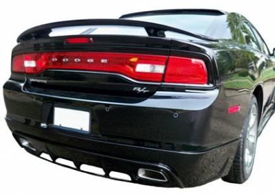Spoilers - Custom Wing - California Dream - Dodge Charger California Dream OE Style Spoiler - Unpainted - 117N
