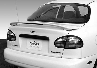 Spoilers - Custom Wing - VIS Racing - Daewoo Lanos VIS Racing Factory Style Spoiler with Light - 960044L