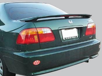 Spoilers - Custom Wing - VIS Racing - Honda Civic 4DR VIS Racing Factory Style Spoiler - 96HDCVC4DOE-003
