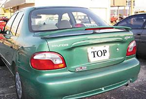 Spoilers - Custom Wing - VIS Racing - Hyundai Accent 2DR VIS Racing Factory Style Spoiler with LED - 96HYACC2DOE-003