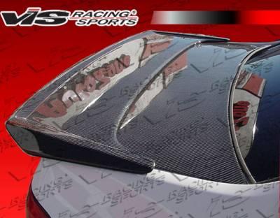 Spoilers - Custom Wing - VIS Racing - Honda Prelude VIS Racing Techno R Carbon Fiber Spoiler - 97HDPRE2DTNR-003C