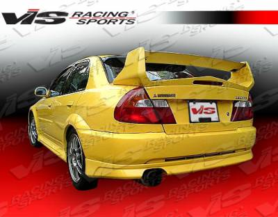 Spoilers - Custom Wing - VIS Racing - Mitsubishi Mirage 4DR VIS Racing Evolution-5 Spoiler - 97MTMIR4DEVO5-003