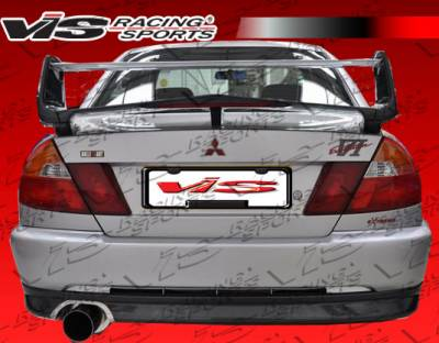 Spoilers - Custom Wing - VIS Racing - Mitsubishi Mirage 2DR VIS Racing Evolution 6 Spoiler - 97MTMIR4DEVO6-003