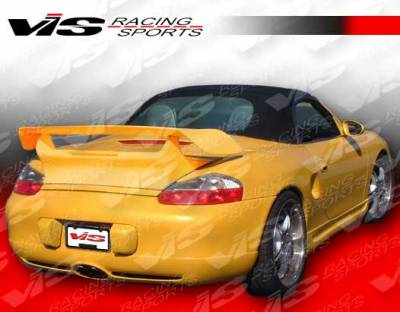 Spoilers - Custom Wing - VIS Racing - Porsche Boxster VIS Racing D2 Spoiler - 97PSBOX2DD2-003