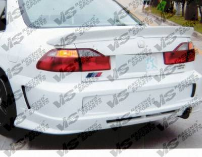 Spoilers - Custom Wing - VIS Racing - Honda Accord 4DR VIS Racing Techno-R Spoiler - 98HDACC4DTNR-003