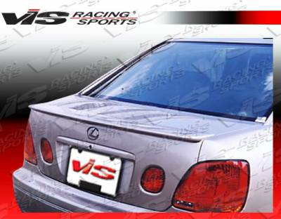Spoilers - Custom Wing - VIS Racing - Lexus GS VIS Racing Techno R Spoiler - 98LXGS34DTNR-003