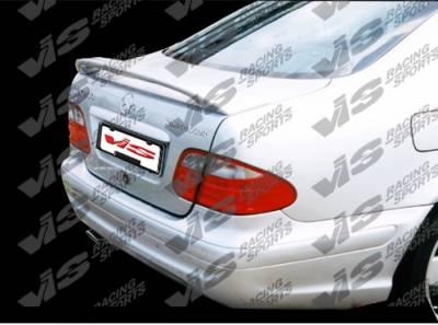 Spoilers - Custom Wing - VIS Racing. - Mercedes-Benz CLK VIS Racing Euro Tech Spoiler - 98MEW2082DET-003