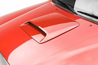Tundra - Hood Scoops - 3dCarbon - Toyota Tundra 3dCarbon Hood Scoop - 691248