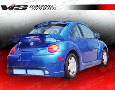 Spoilers - Custom Wing - VIS Racing. - Volkswagen Beetle VIS Racing TSC-2 Mid Spoiler - 98VWBEE2DTSC2-003